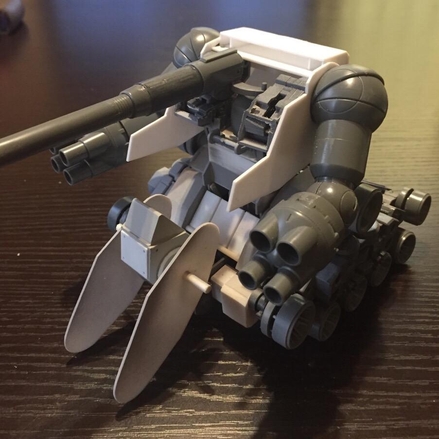 陸戦強襲型ガンタンクを作る!|ザクばかの作業部屋 ...