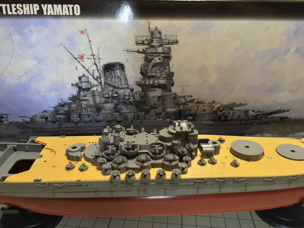 本日の進捗 フジミ 艦 Next 1 700 戦艦大和 その3 ほえほえの