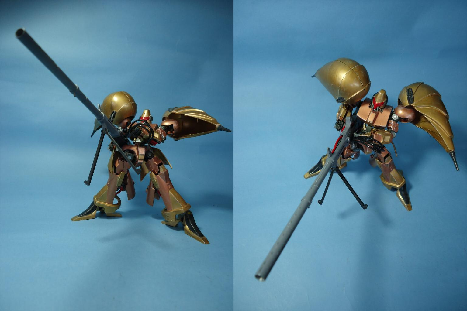 "HG IBHM 鉄血の重戦機『オージェ』(Iron Blood Heavy Metal ""AUGE"")画像3"