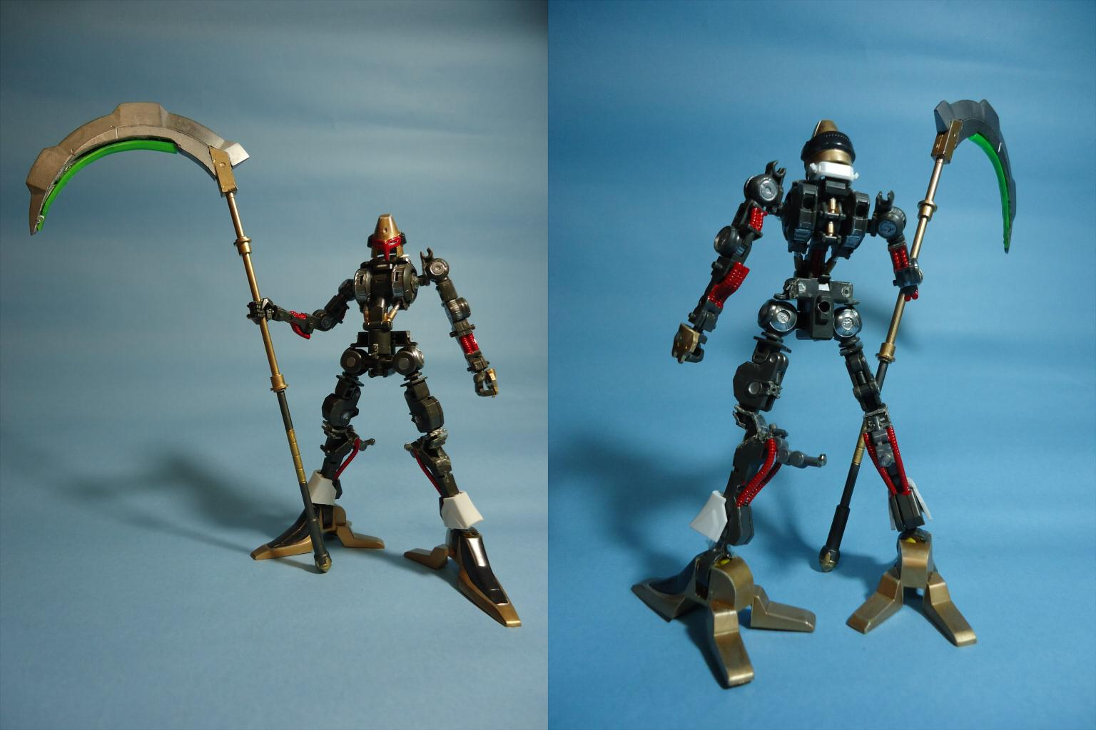 "HG IBHM 鉄血の重戦機『オージェ』(Iron Blood Heavy Metal ""AUGE"")画像6"