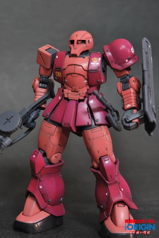 HG MS-05 ZAKUⅠ[CHAR AZNABLE]