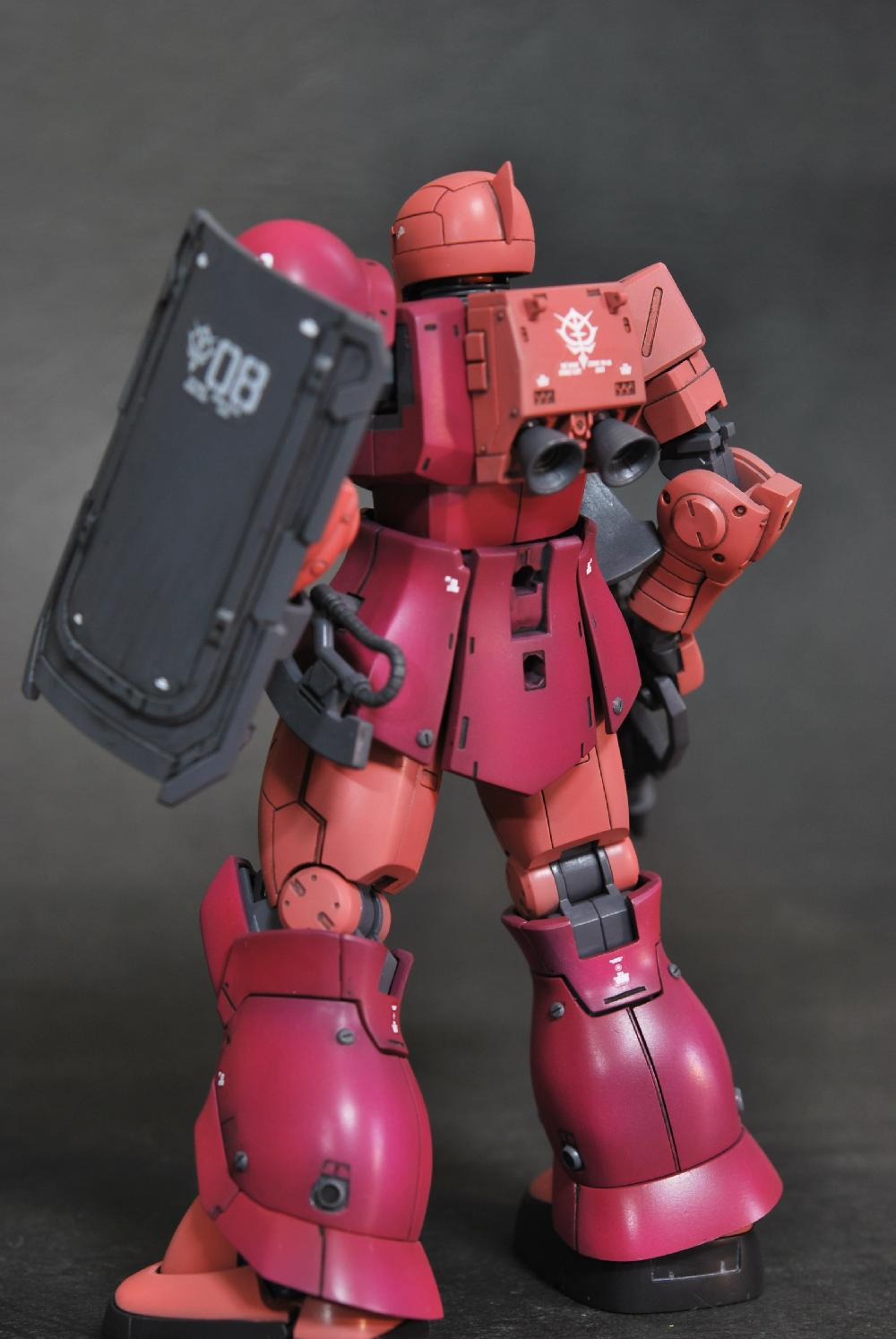 HG MS-05 ZAKUⅠ[CHAR AZNABLE]画像2
