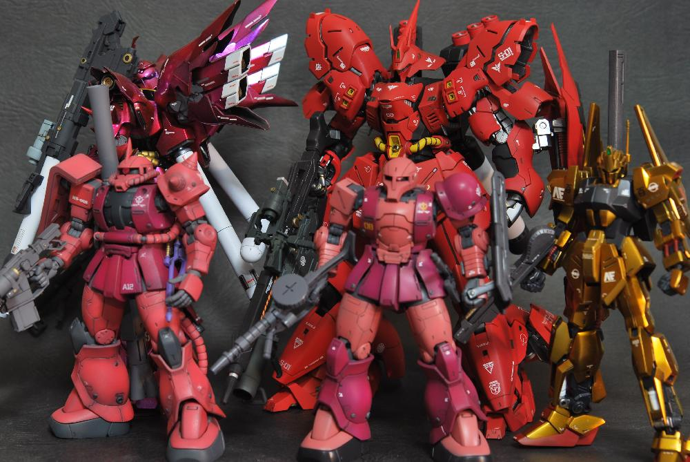 HG MS-05 ZAKUⅠ[CHAR AZNABLE]画像4