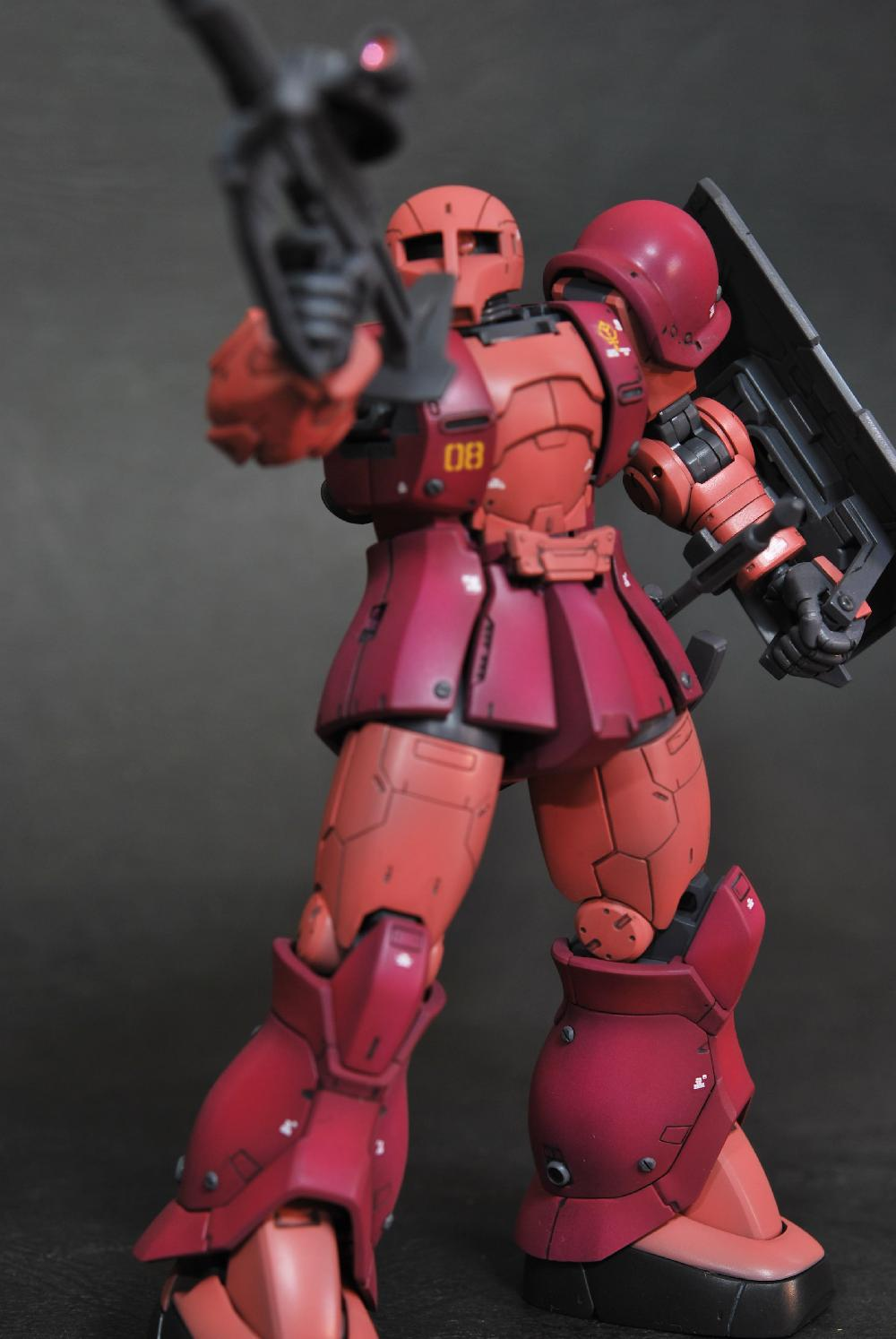 HG MS-05 ZAKUⅠ[CHAR AZNABLE]画像3