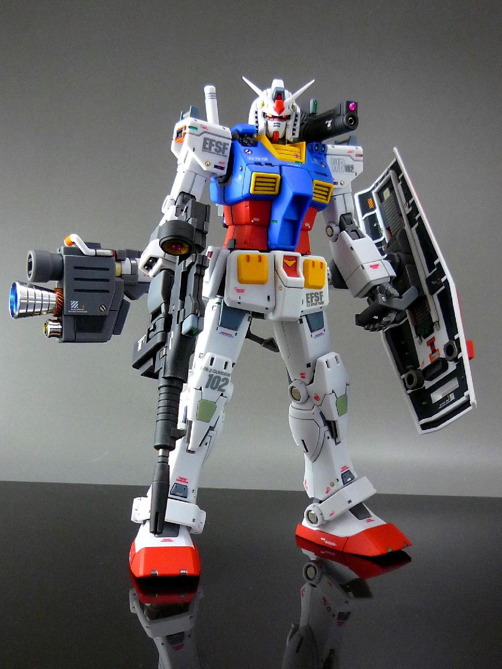 【1/144:RX-78-2 GUNDAM (THE ORIGIN)】画像7