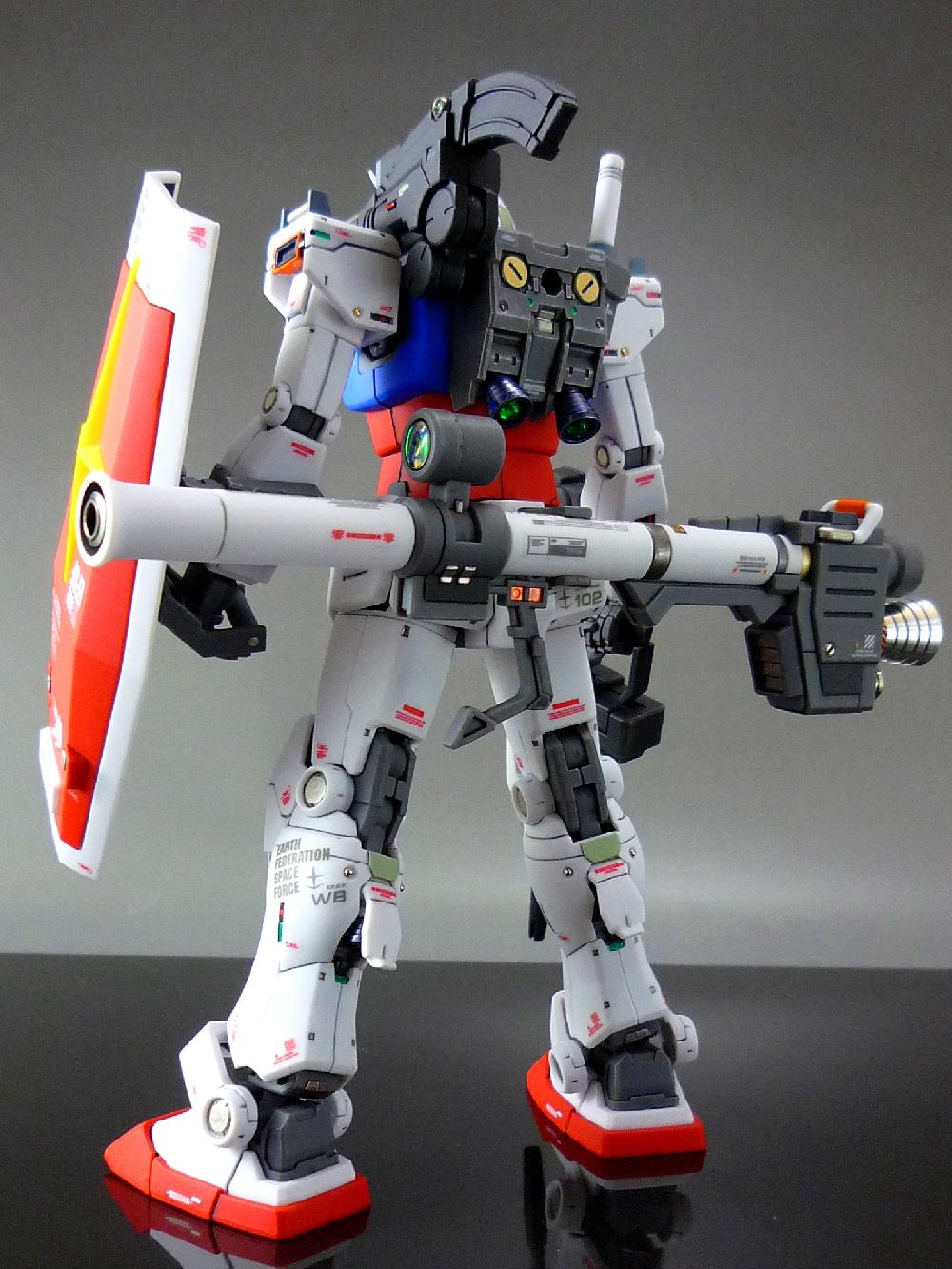 【1/144:RX-78-2 GUNDAM (THE ORIGIN)】画像9