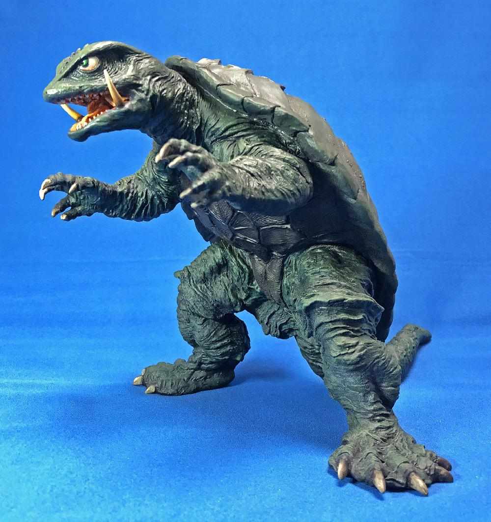 Sci-Fi MONSTER soft vinyl model kit collection ガメラ1995サムネイル1