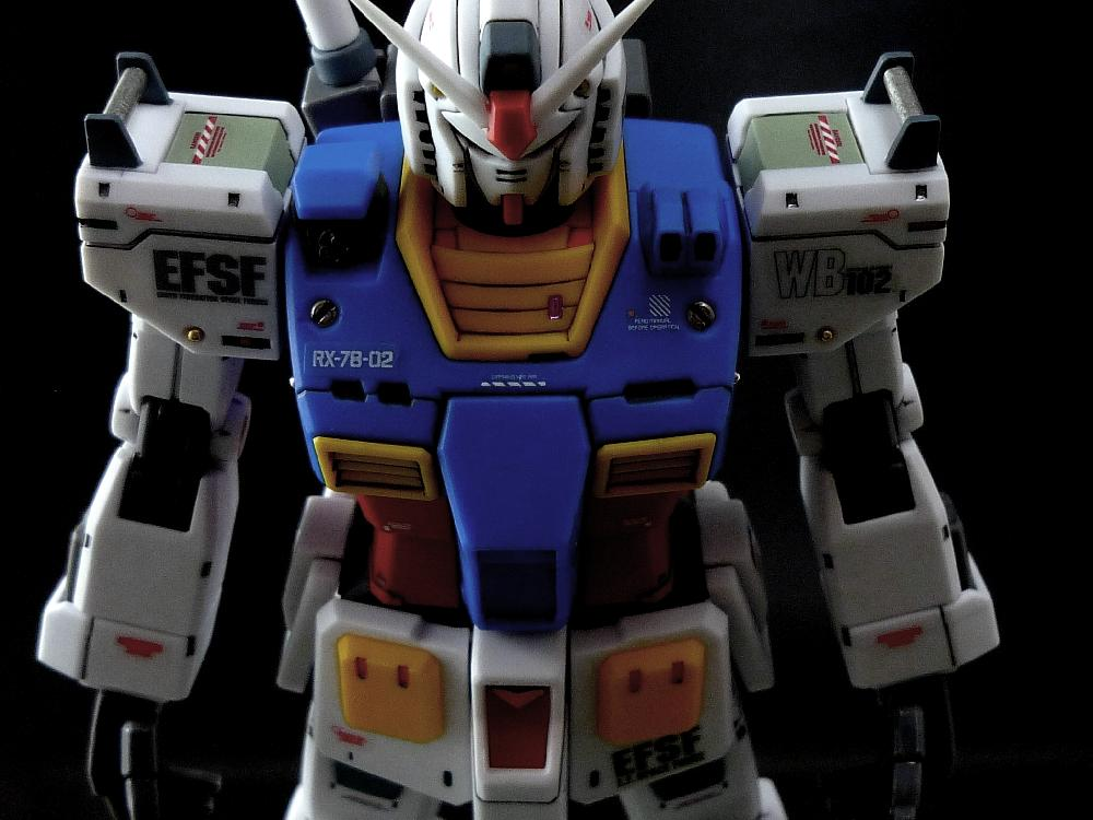 【1/144:RX-78-2 GUNDAM (THE ORIGIN)】画像1