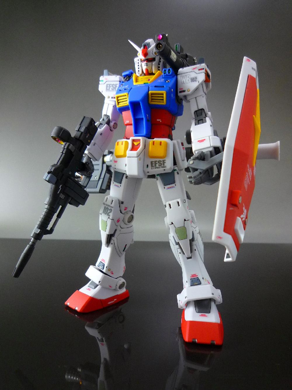 【1/144:RX-78-2 GUNDAM (THE ORIGIN)】画像8