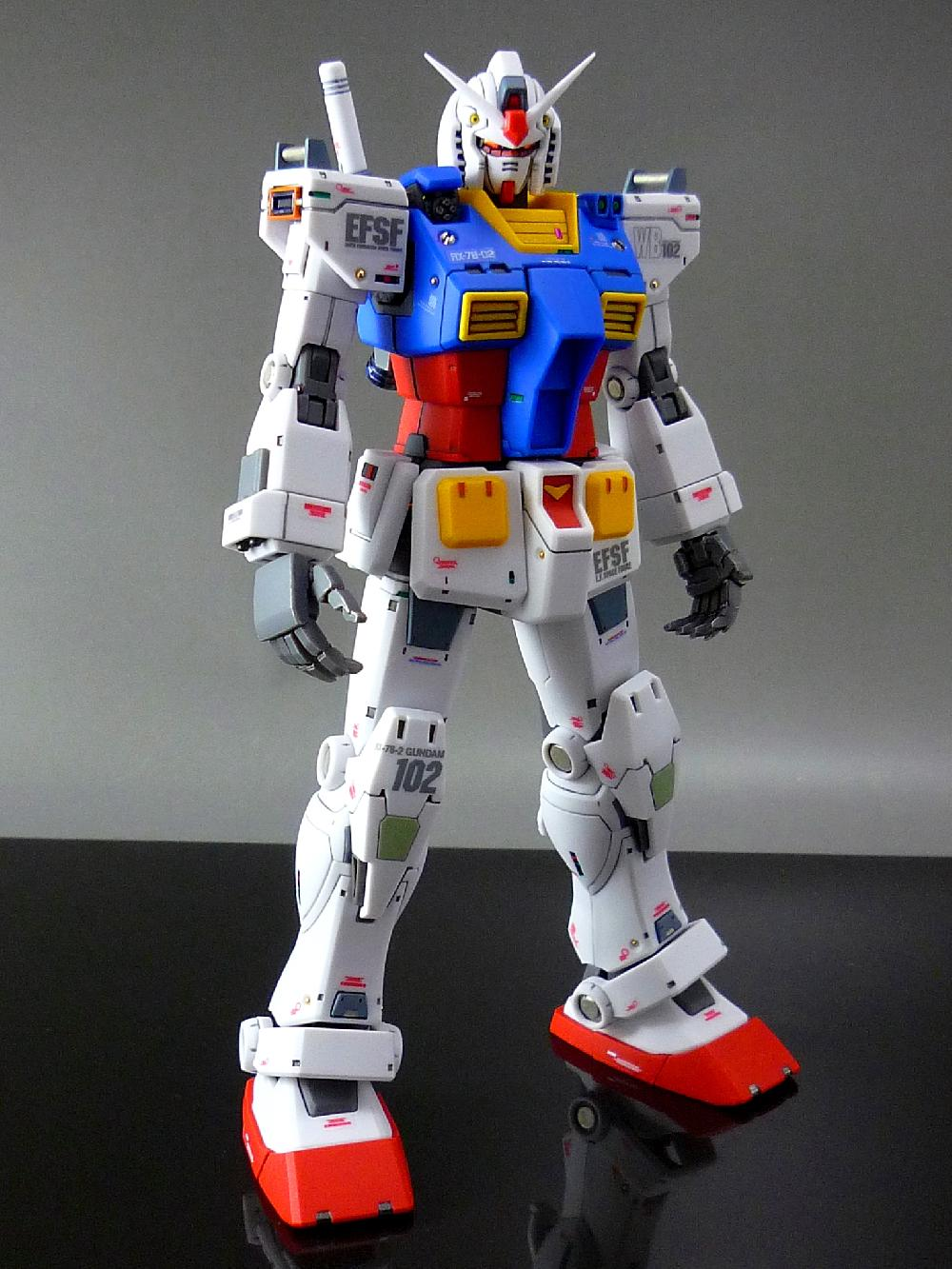 【1/144:RX-78-2 GUNDAM (THE ORIGIN)】画像3