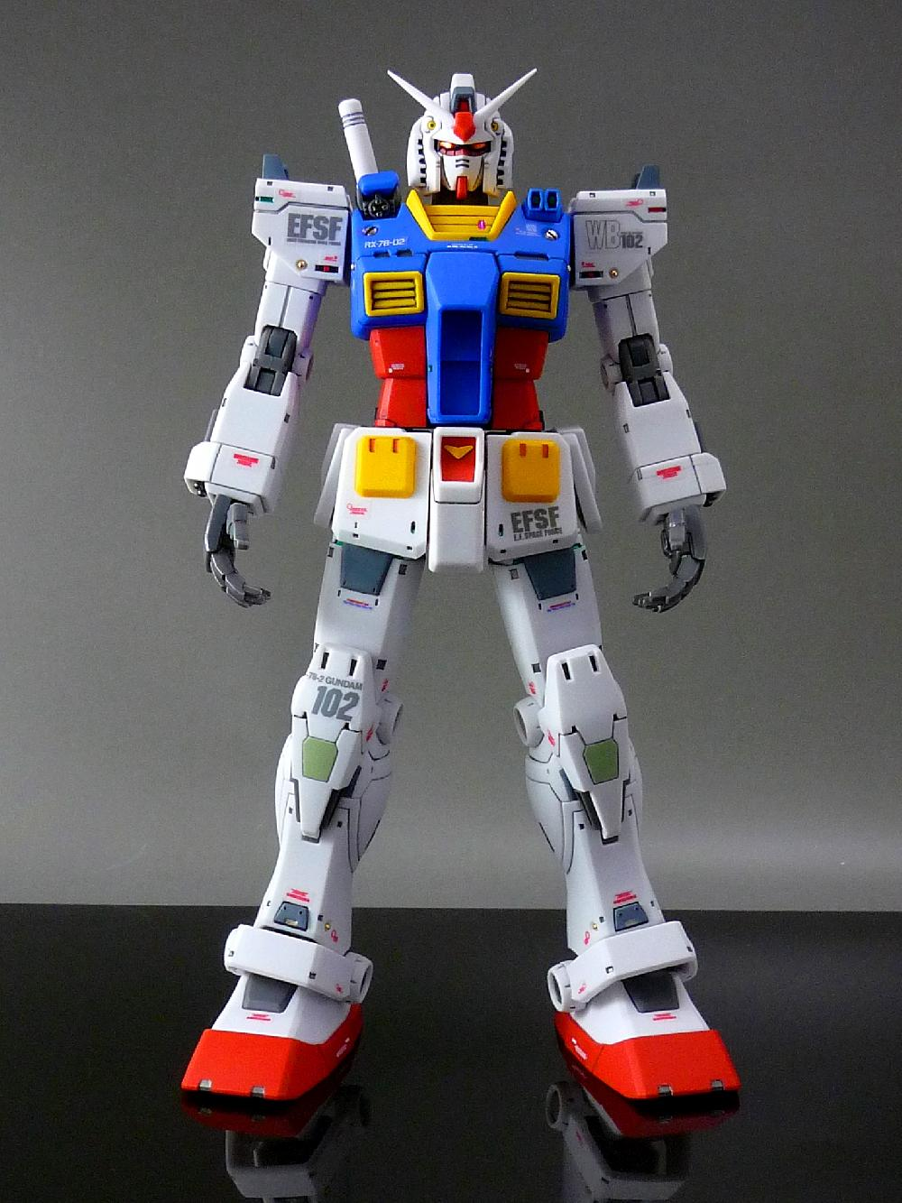 【1/144:RX-78-2 GUNDAM (THE ORIGIN)】画像2