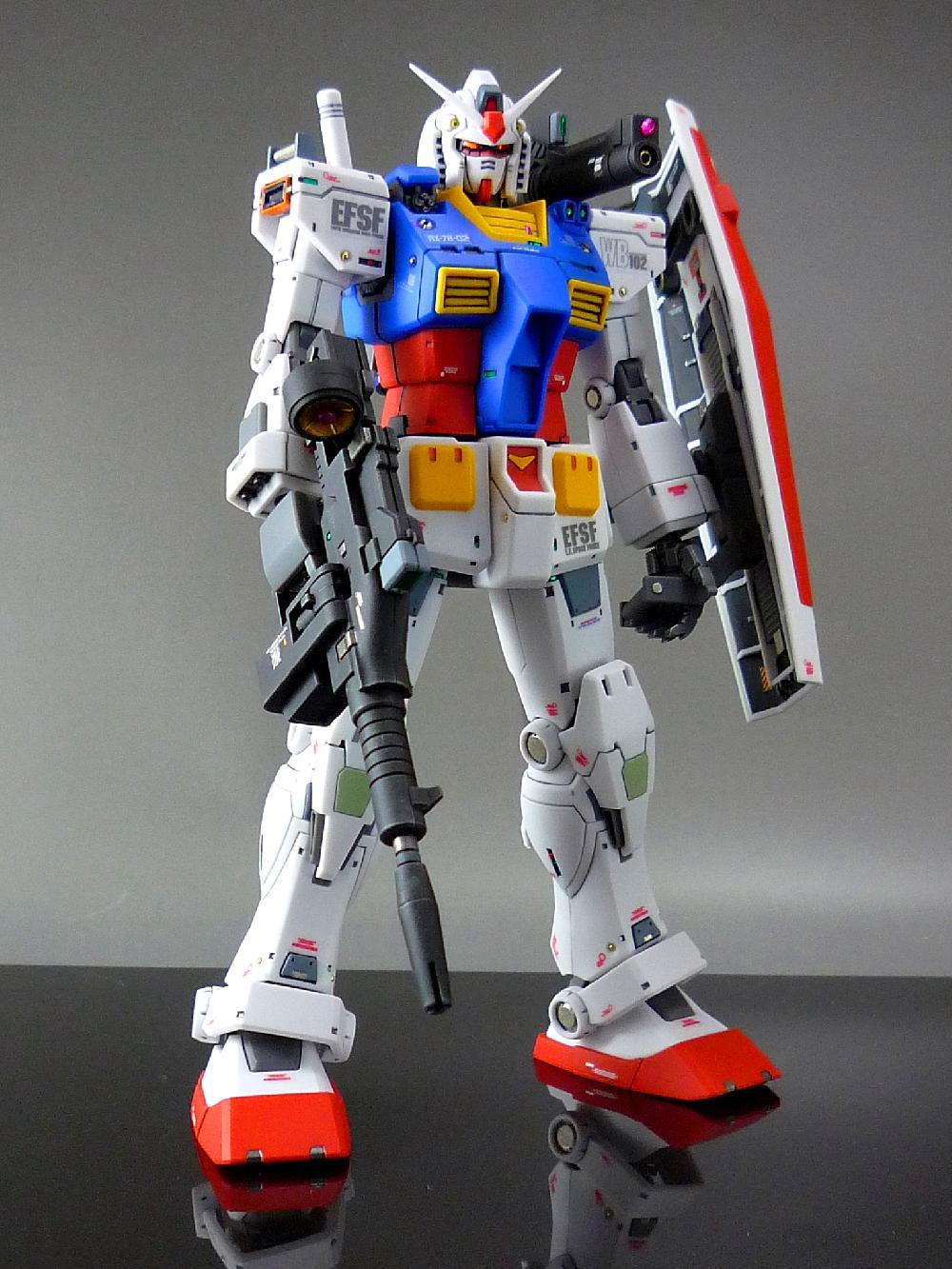 【1/144:RX-78-2 GUNDAM (THE ORIGIN)】画像6